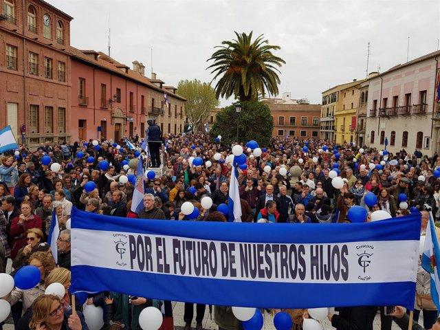 Manifestación en Talavera