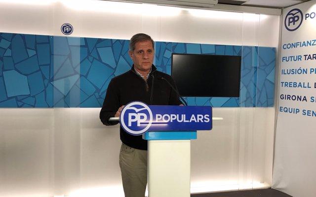 Fernández (PP) proposa instal·lar plaques en record a víctimes del terrorisme a Barcelona