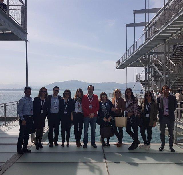 Santander.- Representaicón de CyL en el encuentro