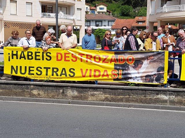 Afectados por derribos en Cantabria
