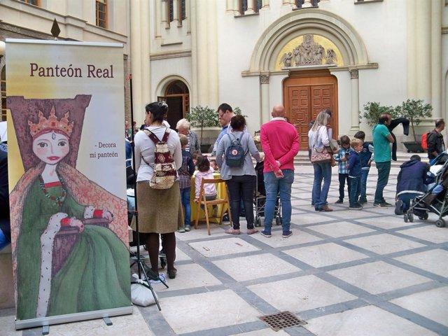Primer día de la jornada de puertas abiertas del Pignatelli.