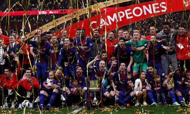 El FC Barcelona se lleva la Copa con un (0-5) al Sevilla