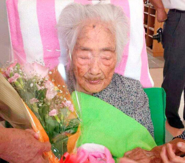 La mujer más vieja del mundo, Nabi Tajima
