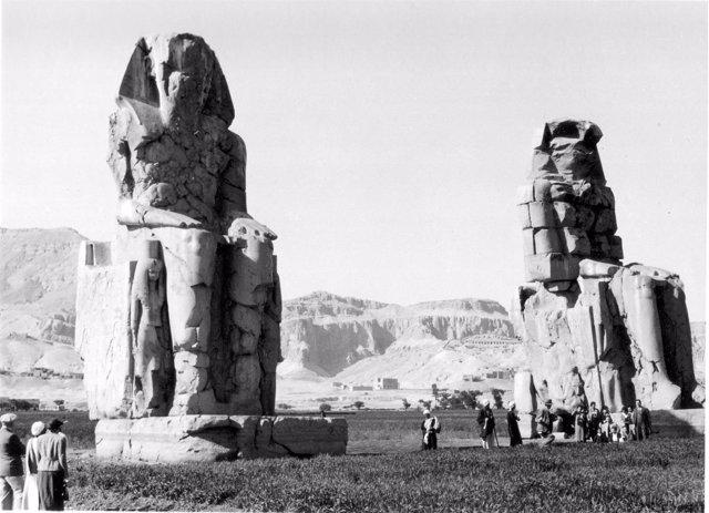 El Castillo Museo San Carlos acoge la exposición de fotografía de época 'Egipto 1930'