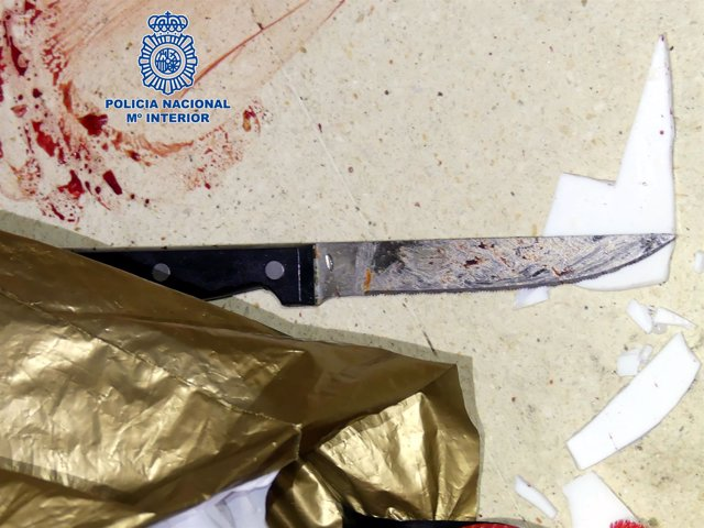 Dos hombres detenidos por apuñalar a otro en Zaragoza.