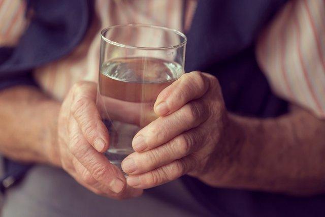 Agua, mayor, beber