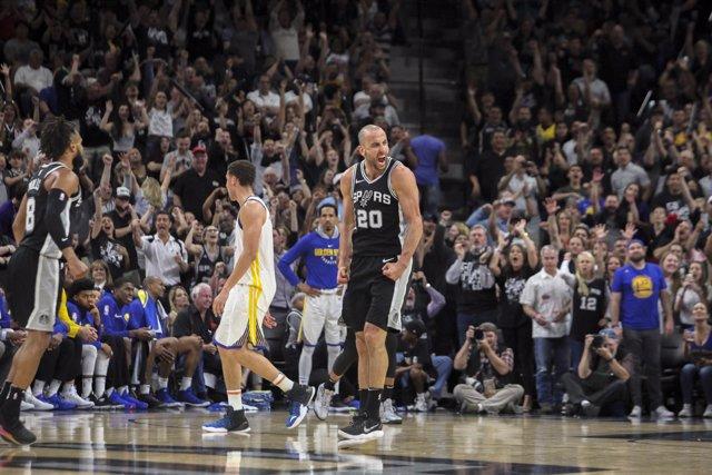 Manu Ginobili en el Golden State Warriors - San Antonio Spurs