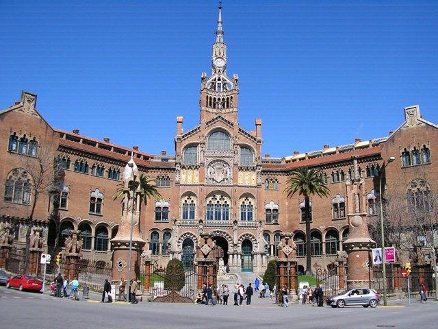 Hospital de la Santa Creu i Sant Pau.