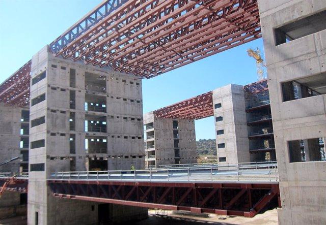 Obras hospital Toledo, septiembre 2017