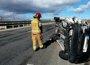 Ocho personas fallecen en las carreteras españolas durante el fin de semana, la mitad de ellos motoristas