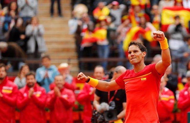 Rafa Nadal España Alemania equipo español Copa Davis