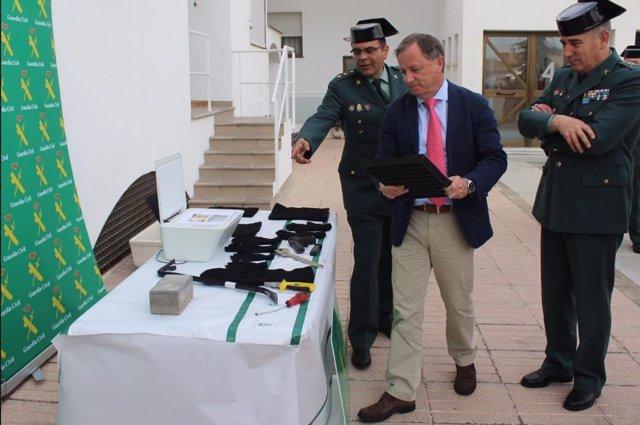 Moragues en Xàtiva informando de la operación
