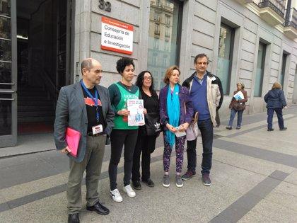 """Plataforma por la Escuela Pública llaman a profesores y alumnos a """"boicotear"""" las pruebas externas de la LOMCE en Madrid"""