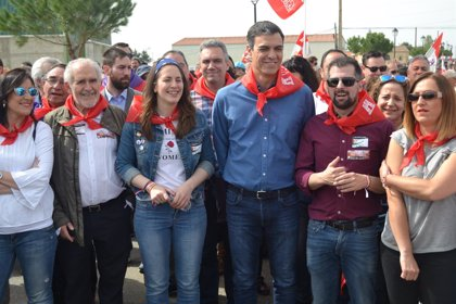 """Sánchez convencido de que el PSCyL recuperará la Junta con """"humildad y constancia"""" y con Tudanca al frente"""