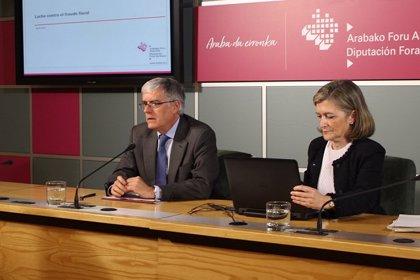 El fraude aflorado por la Hacienda alavesa en 2017 alcanza los 128,7 millones, un 3,6% más