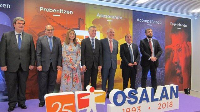 Celebración del 25º aniversario de Osalan