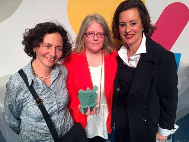 Ángeles Serrano, Flora Pérez y Marta Fernández-Teijeiro