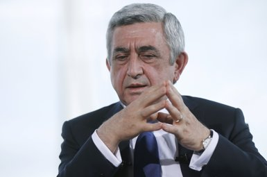 El primer ministre d'Armènia anuncia la seva dimissió després de les protestes contra ell (DAVID MDZINARISHVILI / REUTER - Archivo)