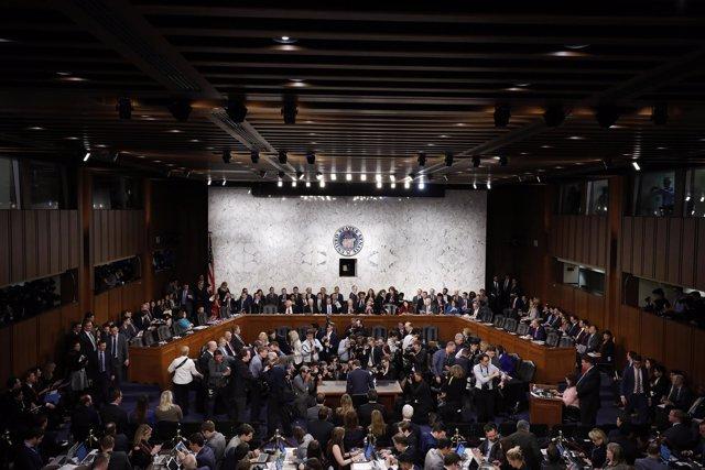 Foto de archivo de uno de los comités del Senado estadounidense