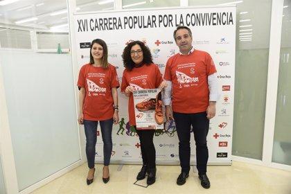 Más de 1.500 personas participarán en la XVI Carrera por la Convivencia de Cruz Roja el 6 de mayo