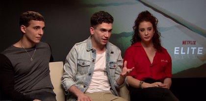 """María Pedraza, Miguel Herrán y Jaime Lorente protagonizan Élite, una serie que """"ayudará a entender mejor a los jóvenes"""""""