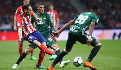 Juanfran sufre una lesión en el isquiotibial del muslo izquierdo