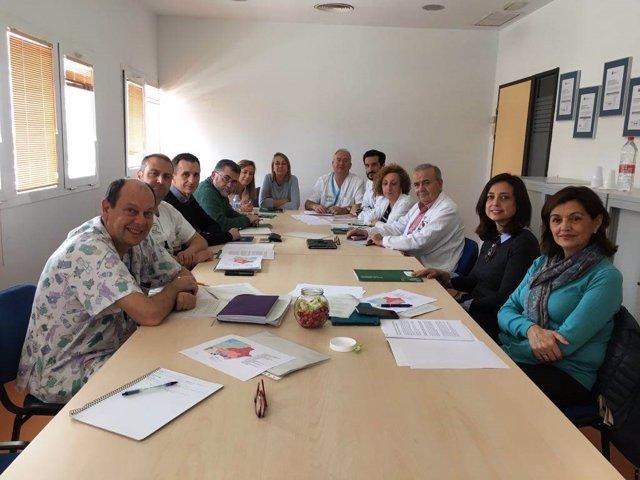 Equipo de cuidados paliativos a edad pediátrica de Almería