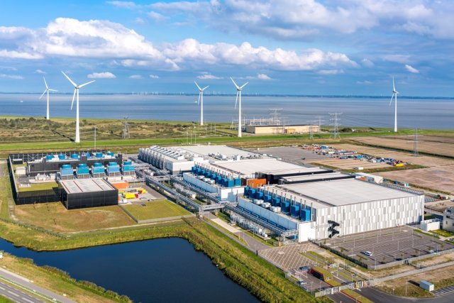 Centro de datos de Google en Eemshaven, Países Bajos