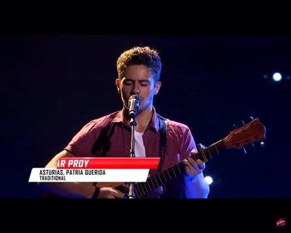 Un concursante de 'The Voice Australia' interpreta el himno de Asturias en honor a su abuela