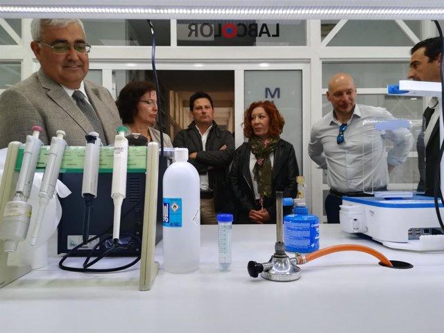 [L Comunicacion.Almeria.Dgob] Nota Visita Almería Consejero Economía