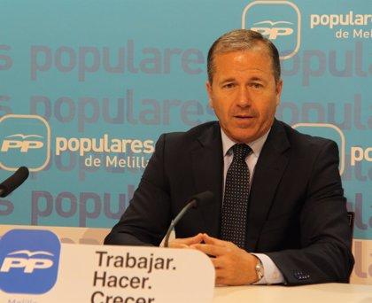 """Marín (PP Melilla), tras ser absuelto, denuncia los """"ataques furibundos"""" de la oposición"""