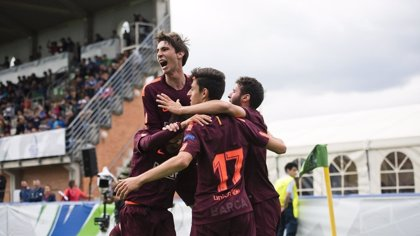 El FC Barcelona conquista su segunda 'Champions' juvenil