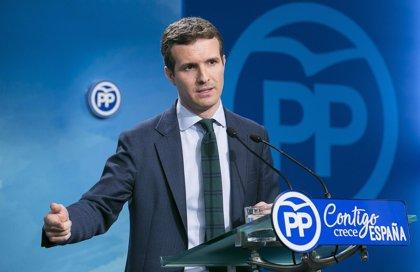 """El PP ultima la iniciativa que llevará al Congreso para evitar pactos de gobierno """"en despachos"""" que echen al más votado"""