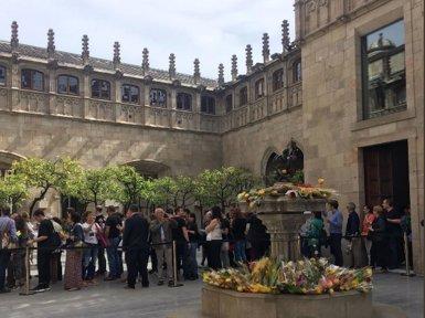Més de 8.000 persones visiten el Palau de la Generalitat (GENERALITAT)