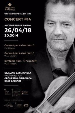 Concierto de Giuliano Carmignola