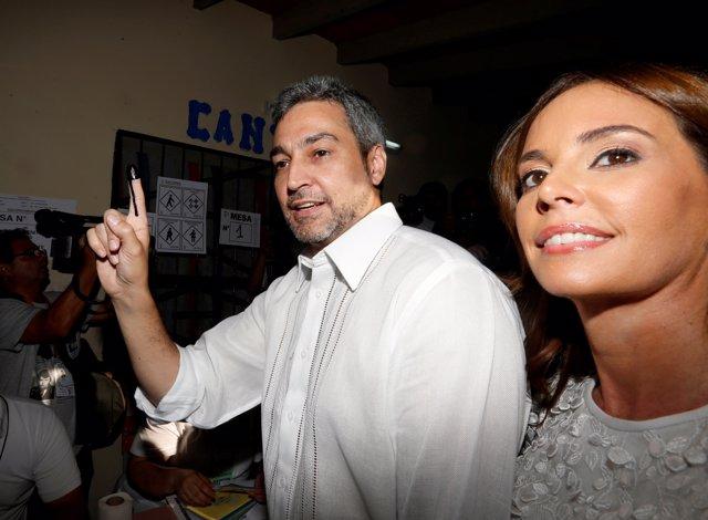Mario Abdo Benitez Del Partido Colorado
