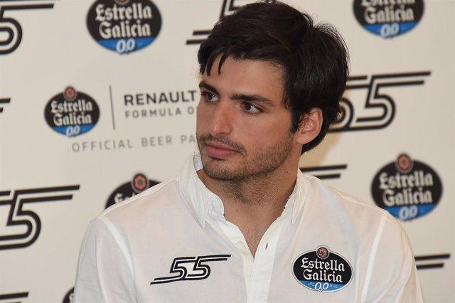 El piloto español Carlos Sainz (Renault)