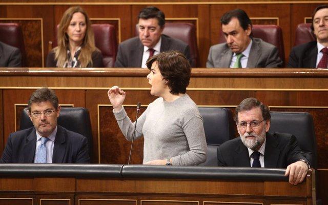 Santamaría dice que se tendrá que investigar si hubo 'partidas falseadas' para el 1-O