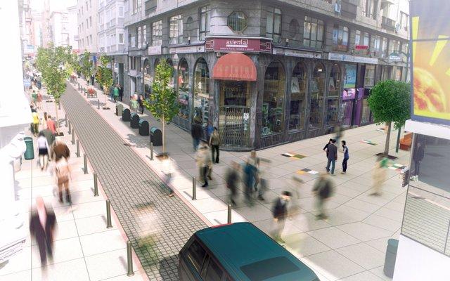 Las obras de mejora de la calle Miguel Artigas comenzarán en mayo y las de Cervantes en septiembre