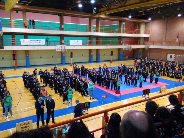Campeonato Nacional de Kung-Fu en Cuenca