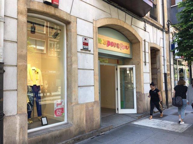 Tienda en Gijón Cáritas
