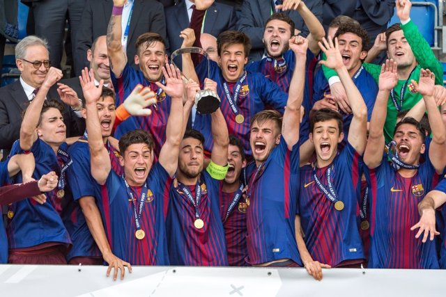 FC Barcelona, campeón de la UEFA Youth League