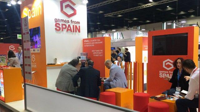 Pabellón de España en Gamescom