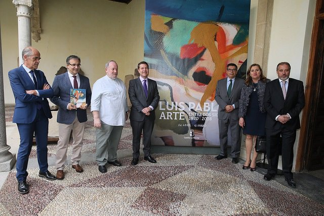 Inauguración de la exposición de Luis Pablo Gómez Vidales