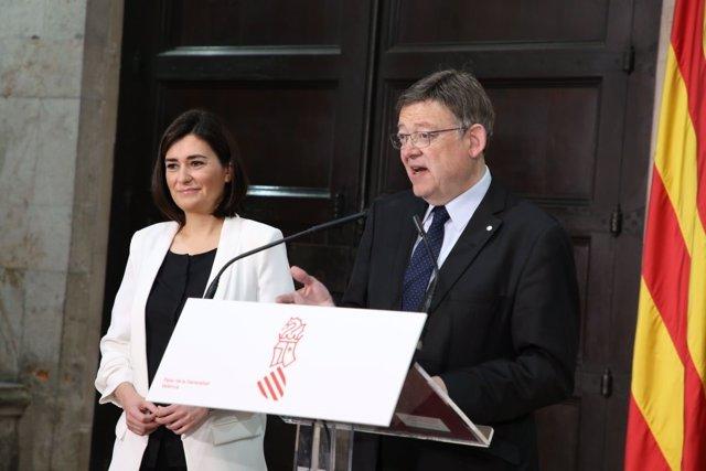 Puig y Montón anuncian el fn del copago para los parados con menos de 18.000 eur