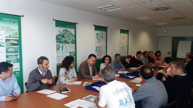 Reunión viceconsejera de Salud sobre Área Sanitaria del Campo de Gibraltar