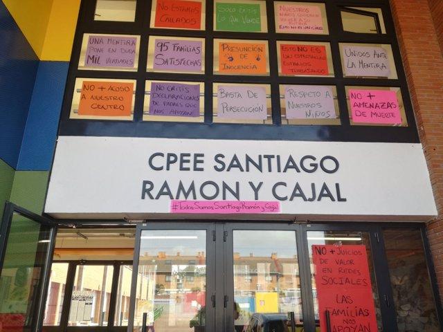 Fachada del Colegio de Educación Especial Santiago Ramón y Cajal