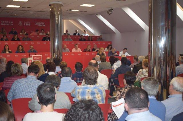 Comité Ejecutivo del PSOE cántabro