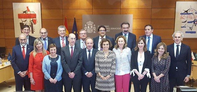 Villegas, en la reunión del Consejo Interterritorial