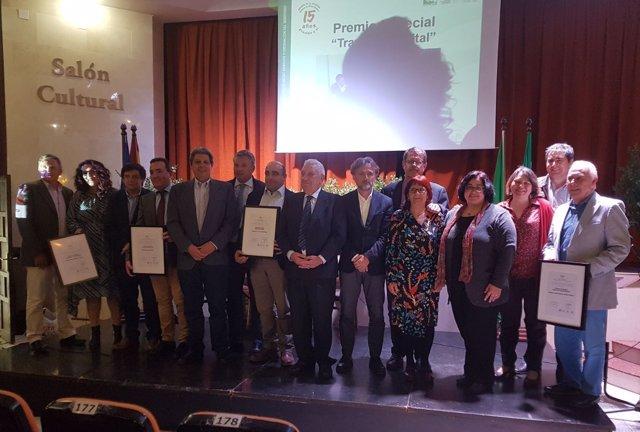 Acto de entrega de los Premios del Parque Natural de la Sierra Norte de Sevilla